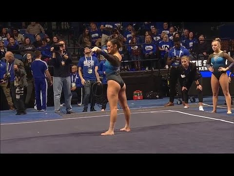 Katie Stuart Kentucky  Floor Exercise 9.675  Ball State, GWU, SEMO at Kentucky 2018