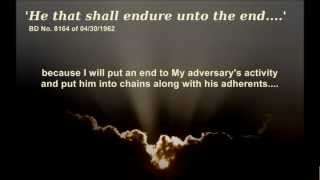 he that shall endure unto the end