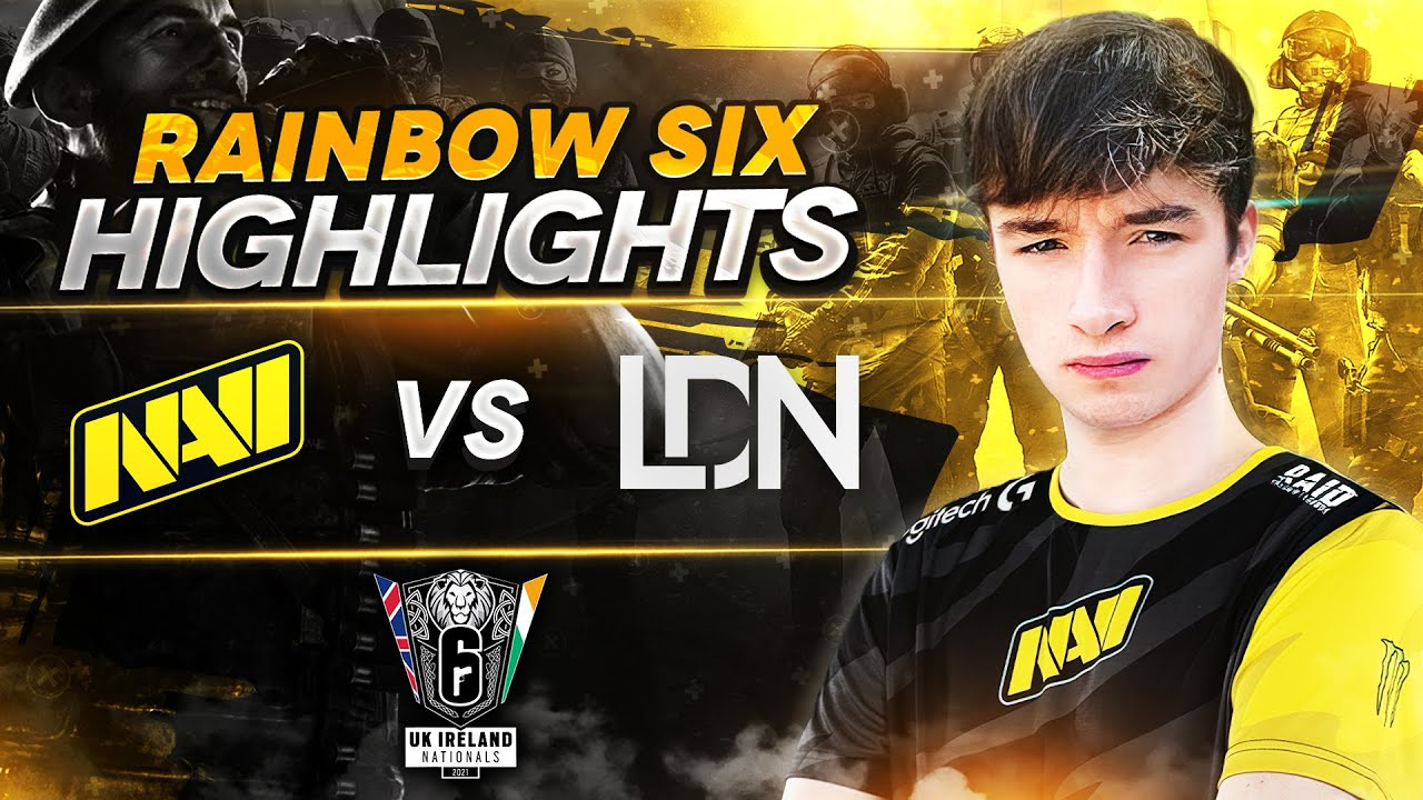 Rainbow Six Highlights: NAVI vs London Esports @ UKIN S2