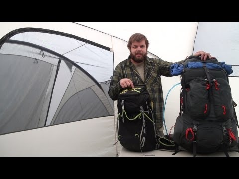 How to Pack a Backpack - Traditional vs Lightweight