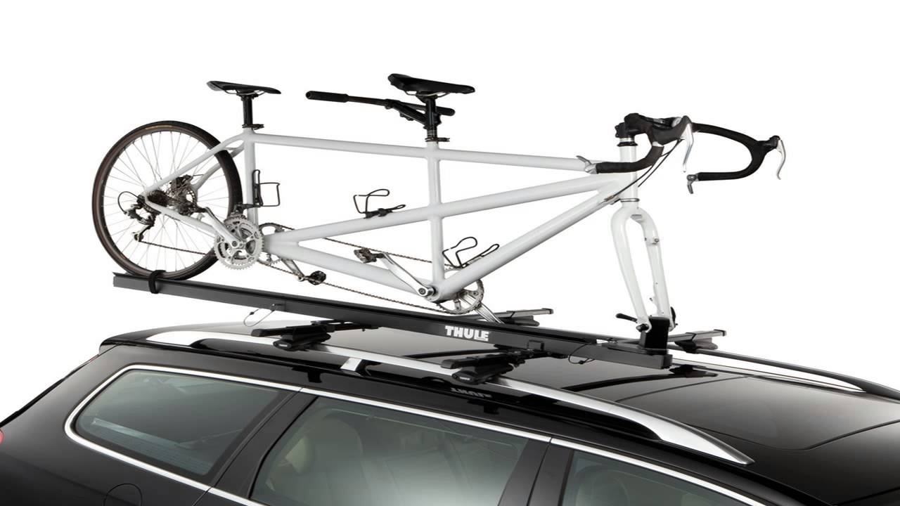 Thule 558p Tandem Bicycle Pivoting Roof Mount Carrier