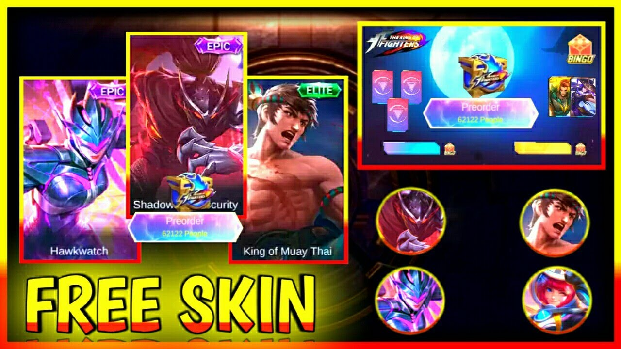 FREE ELITE SKIN + FREE DRAW EVENT KOF ENCORE EVENT 2020 | Mobile Legends