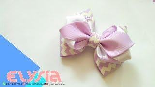 Laço Tulip | Tulip #Ribbon Bow | DIY by Elysia Handmade