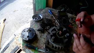 жөндеу және диагностика генератор ваз-21120
