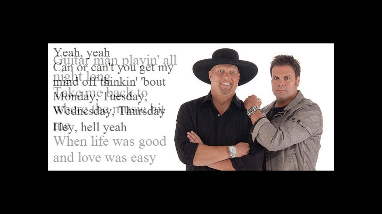 Where I Come From Lyrics - Montgomery Gentry | Country Music