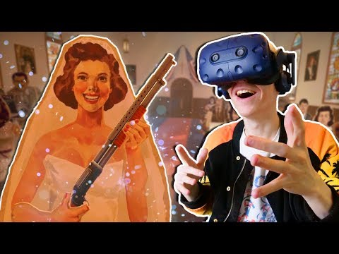 AMERICAN WEDDING IN VIRTUAL REALITY! | The American Dream VR (HTC Vive Pro Gameplay) Ep.3