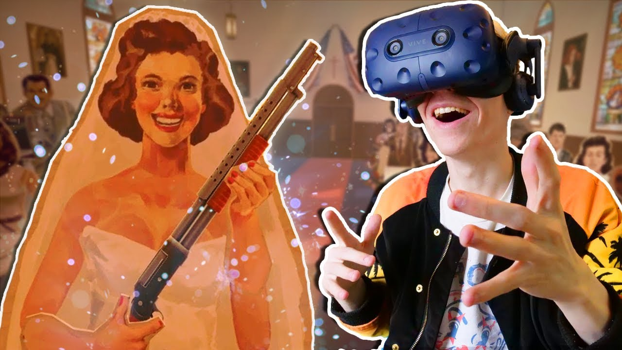 AMERICAN WEDDING IN VIRTUAL REALITY! | The American Dream VR (HTC Vive Pro Gameplay)