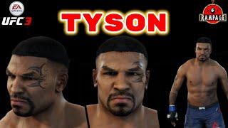 uFC 3 how to make Mike Tyson  КАК СОЗДАТЬ МАЙКА ТАЙСОНА В UFC 3
