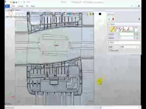 CAD Basic Mold   Create slide and Lifter