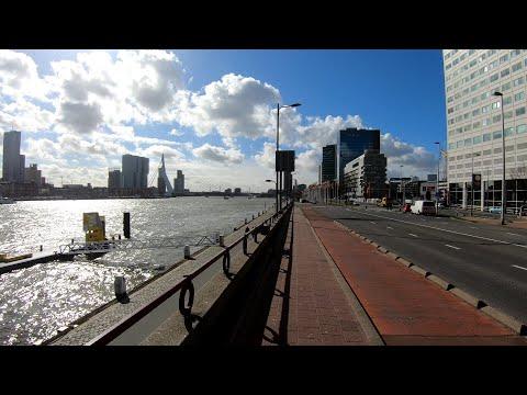 Walking in Rotterdam #1 ⛅   The Netherlands - 4K60