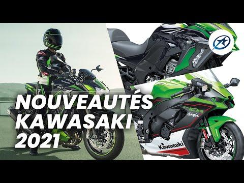 Nouveautés motos Kawasaki 2021