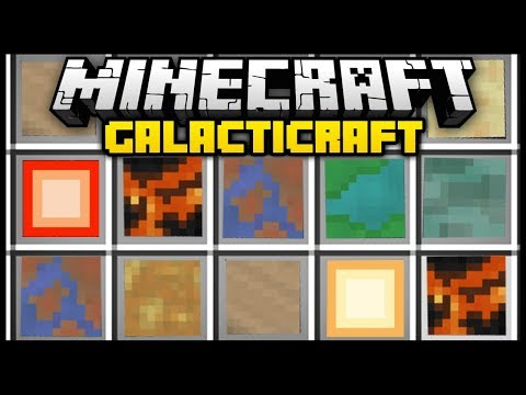 Minecraft GALACTICRAFT (Mod Showcase)