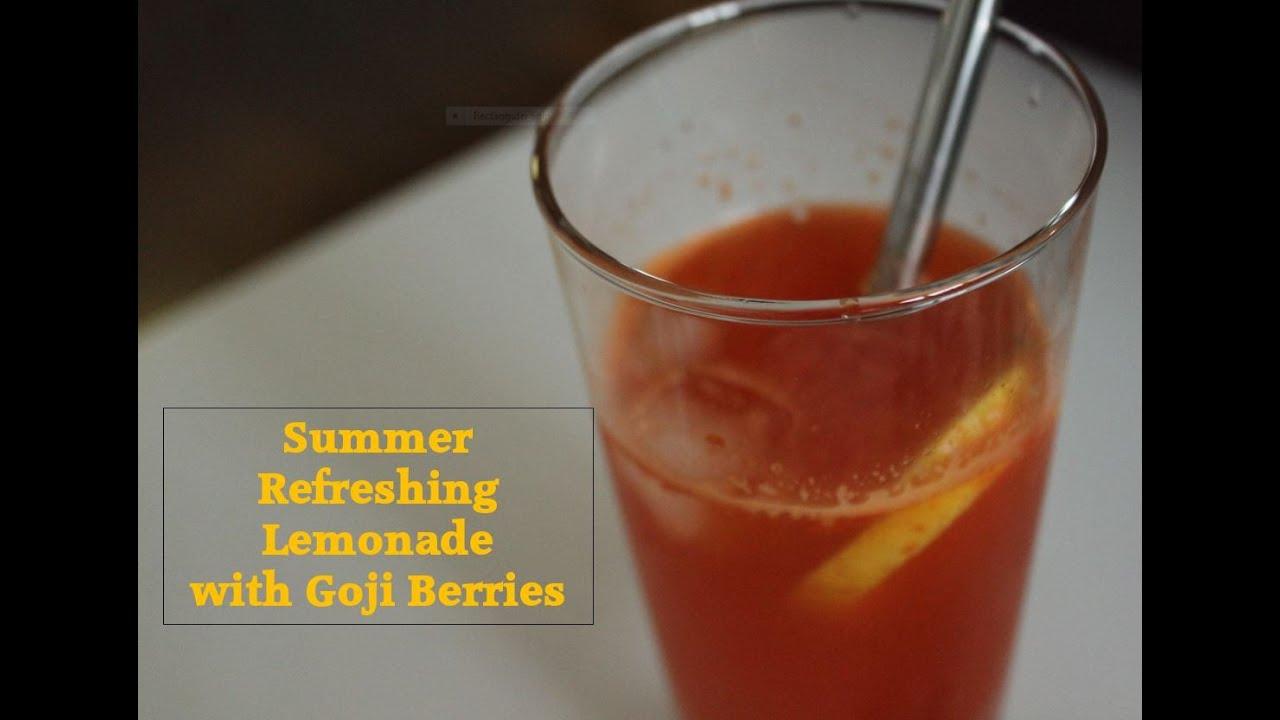Juicing Recipe How To Make Healthy Goji Berries Juice Simplement Bon 1 Youtube