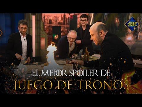 Jandro recrea toda la saga de 'Juego de Tronos' en menos de cinco minutos - El Hormiguero 3.0 from YouTube · Duration:  5 minutes 27 seconds