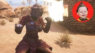 Conan Exiles (PvE-C): We Combine Orb Effects (Where to Find Volatile Glands) (Episode 19)