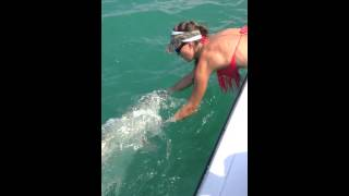 Sexy First Mate Releases Tarpon