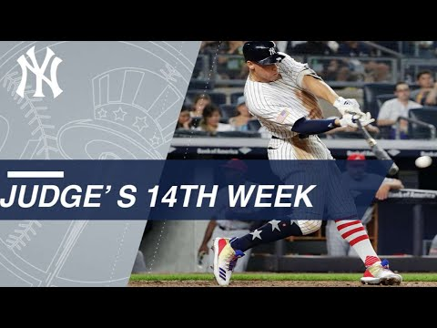 Highlights from Judge's 14th week of the season