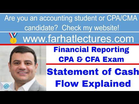 Statement of Cash Flow CFA exam ch 4 p 2