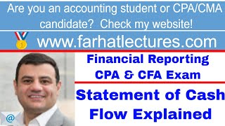 Statement of Cash Flow CFA exam ch 4 p 2