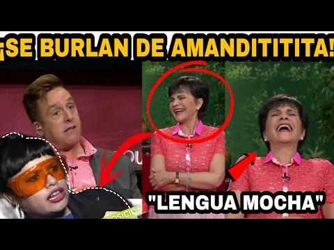 Equipo de VENTANEANDO se BURLA de AMANDITITITA ¡Paty Chapoy ataque de risa!