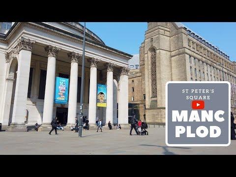 St Peter's Square | Manchester City Centre [4K]