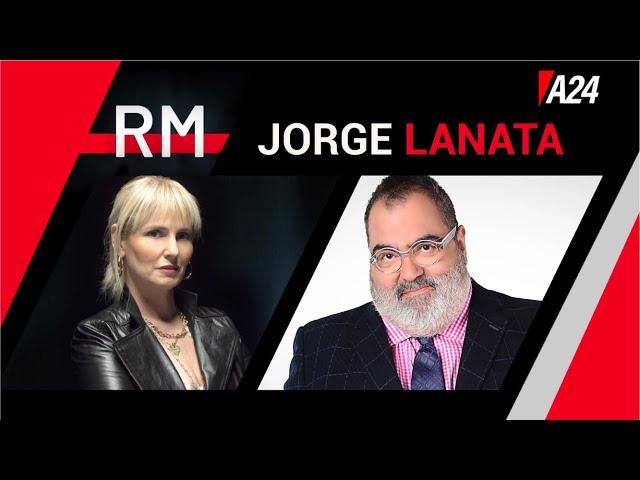 JORGE LANATA mano a mano con Romina Manguel