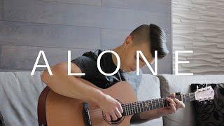 Alone - Alan Walker (Fingerstyle Guitar Cover by Vadim Kobal) Free Tabs