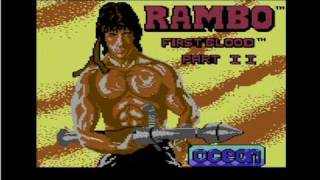 Commodore 64 Rambo - Real C64