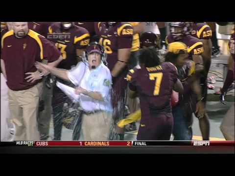 JediASU - Gatorade Shower for Dennis Erickson courtesy of Vontaze Burfict and Omar Bolden