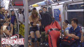 Subway Mania - Triple H vs Kane vs Stone Cold Steve Austin