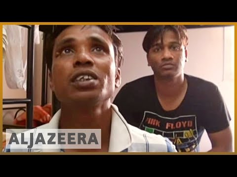 Migrant workers mistreated in Qatar