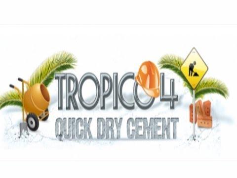 Let's Play Tropico 4 - Quick-Dry Cement DLC - Gods Of Economy - Part 1