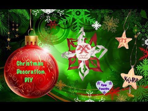 Kpop Christmas decoration DIY - Kpop DIY - (English, Italian and Portuguese subs)