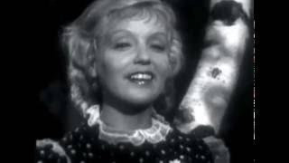 Марина Ладынина и Евгений Самойлов Уходил казак на войну из фильма в 6 вечера после войны 1944