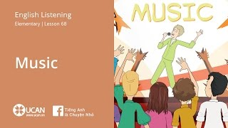 Learn English Via Listening| Elementary - Lesson 68. Music