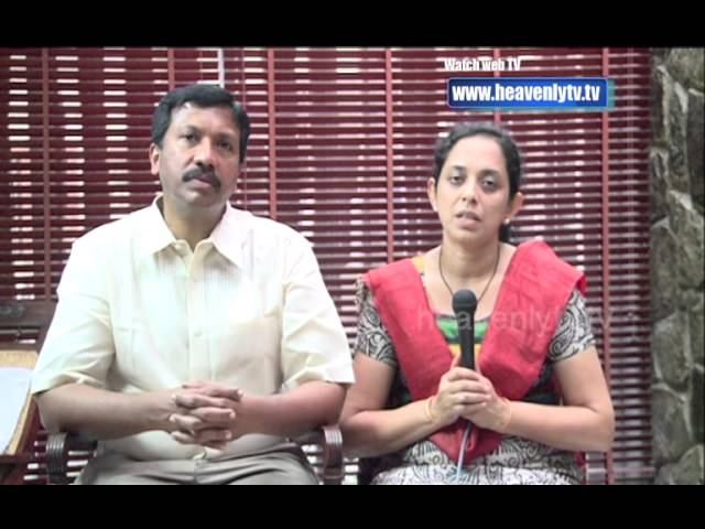 Testimony of Br.Kuriachan & Sis.Ansu