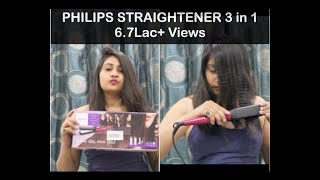 Review on Philips Straightener + curler 5 in 1 of Rs. 3574
