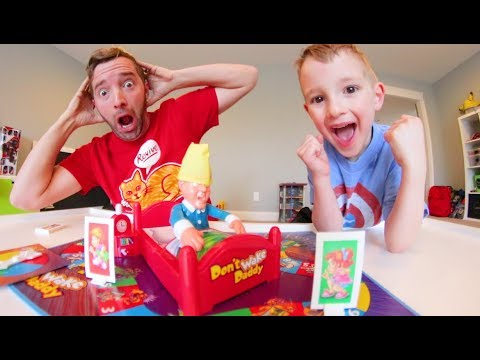 Father & Son PLAY DON'T WAKE DADDY!