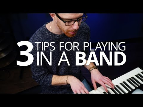 3 Tips For Playing With A Band – Piano Lesson (Pianote)