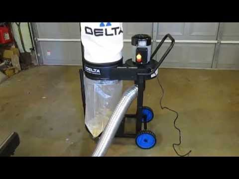 Delta 50-723 1 hp Dust Collector Review