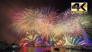 ⁽⁴ᴷ⁾ Fetes de Geneve 2018 - Grand feu d'artifice 2018 - Sugyp - Big Fireworks - Feuerwerk