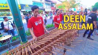 Deen Assalam - Cover Angklung, Syahdu Suaranya versi Angklung Carehal (Angklung Malioboro Jogja) Mp3