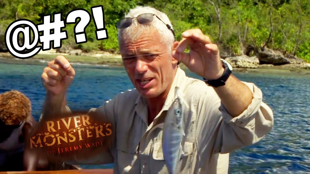 Jeremy Wade Swears At A Fish!   SPECIAL EPISODE!    River Monsters
