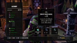 Eso Crafting Petty Glyph Of Stamina