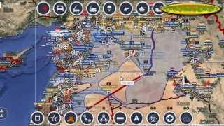 Обзор карты боевых действий в Сирии, Ираке и Йемене за 27 10 2015 год