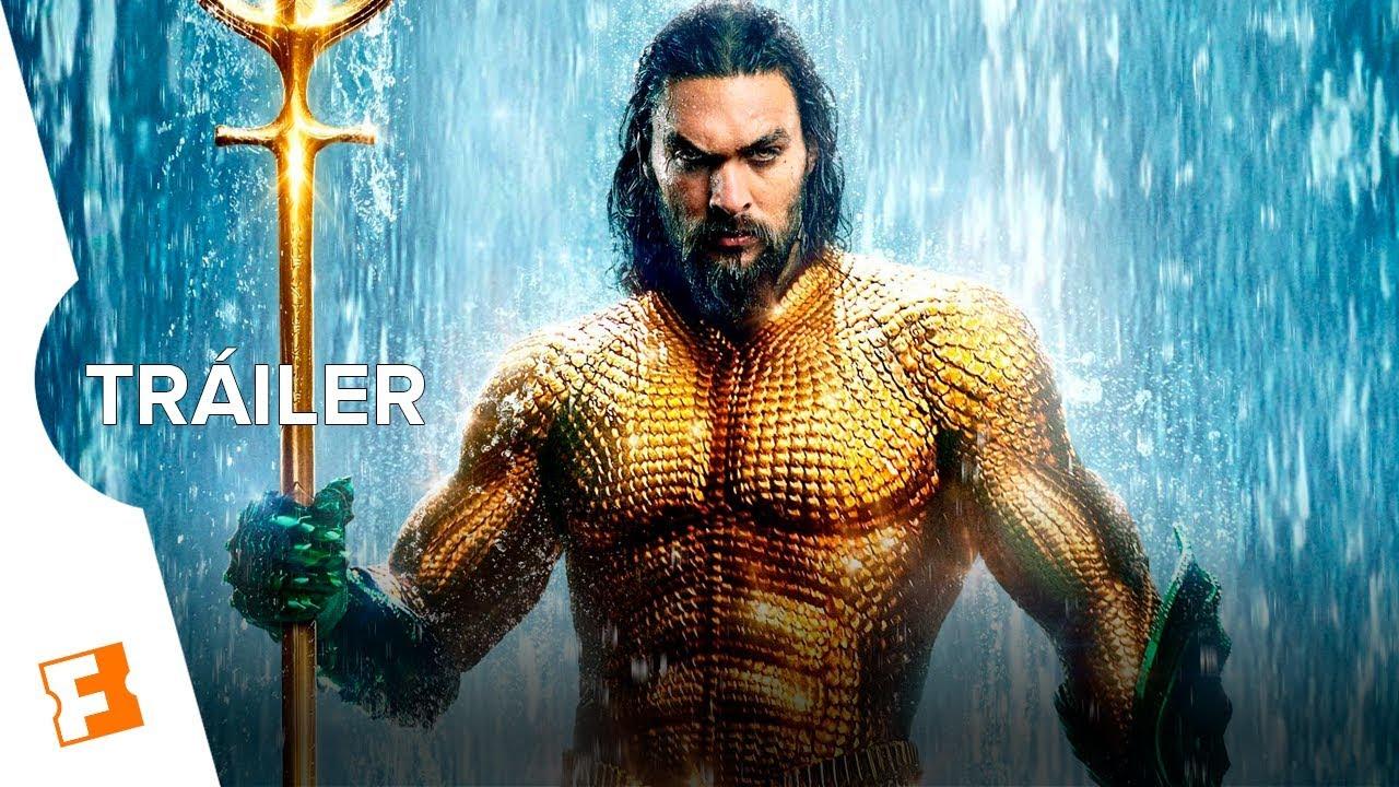Aquaman Tráiler Oficial Final Sub Español Youtube