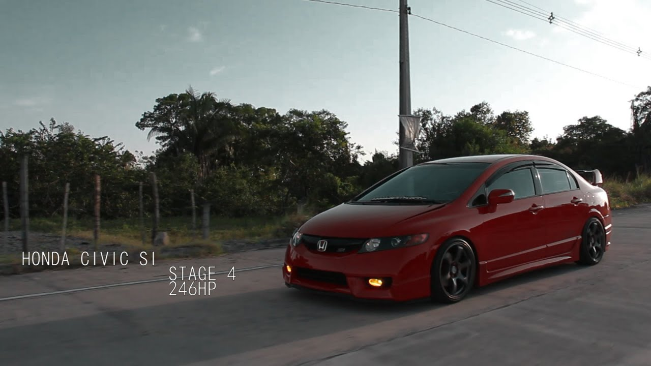 Awesome Honda Civic SI Mugen Stage 4 By Zero83 Films   YouTube