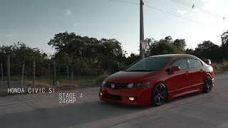 Honda Civic SI Mugen Stage 4 By Zero83 Films