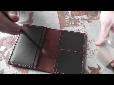 обложка для паспорта из кожи своими руками
