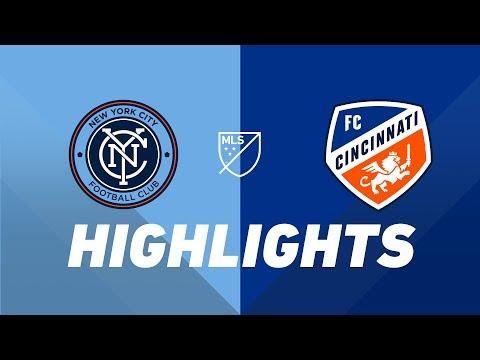 NYCFC vs. FC Cincinnati   HIGHLIGHTS - June 6, 2019